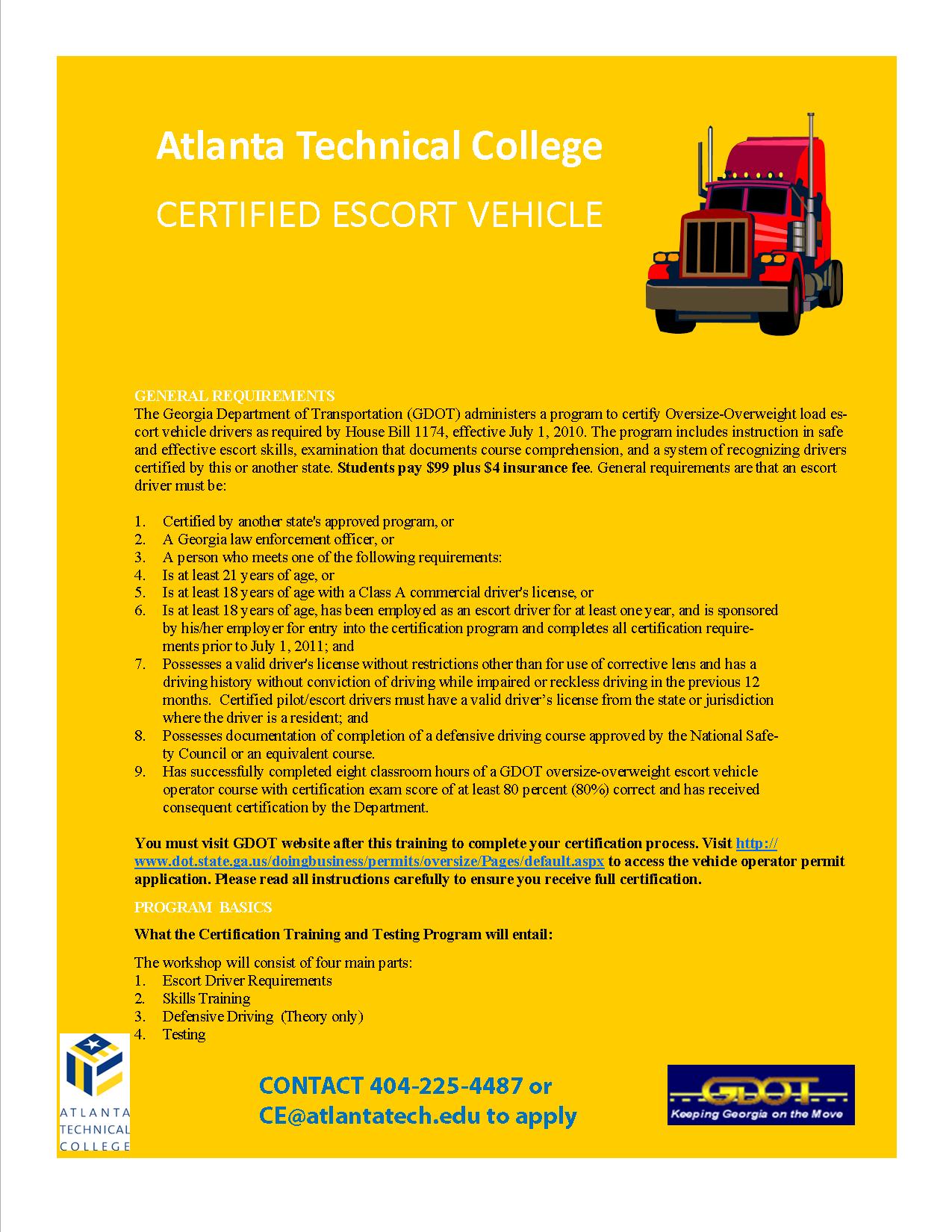 CE CEVP Flyer