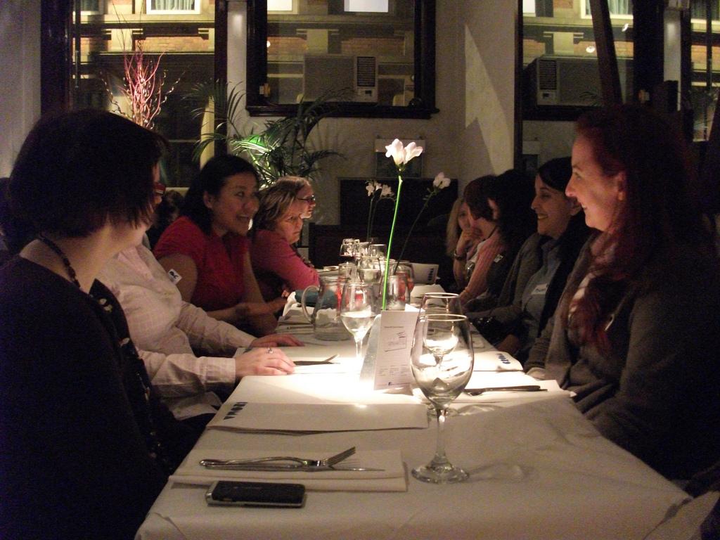 Girl Geek dinner