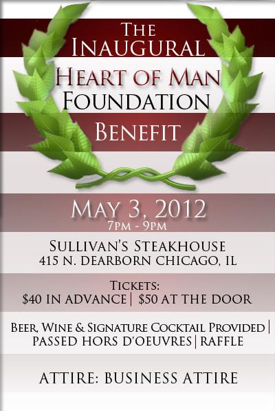 Heart of Man Foundation Benefit
