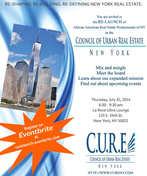 CURE Re-launch Flyer