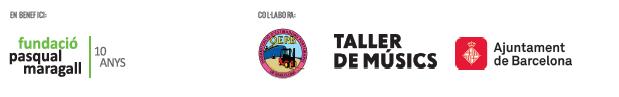 En Benefici de la Fundació Pasqual Maragall i en col·laboració de l'Organització d'estibadors portuaris de Barcelona, el Taller de Músics i l' Ajuntament de Barcelona.