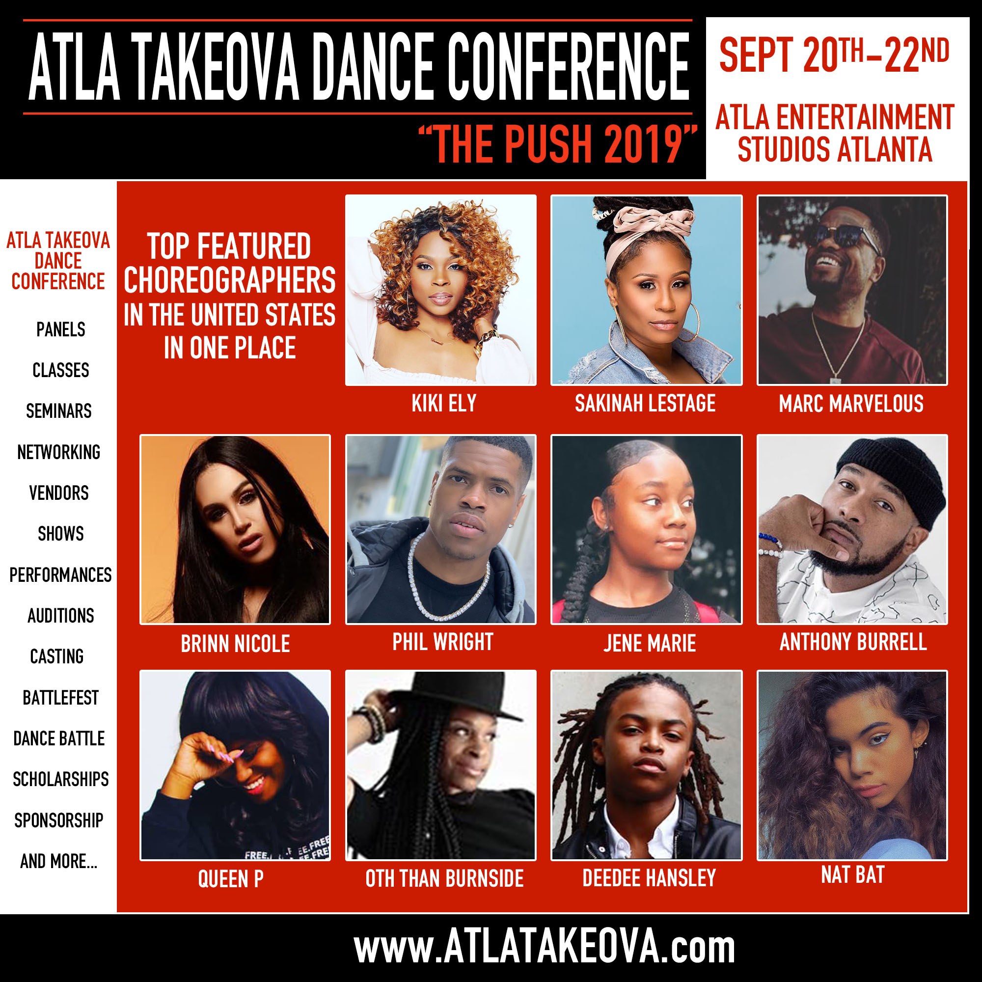 ATLA TakeOva Dance Conference