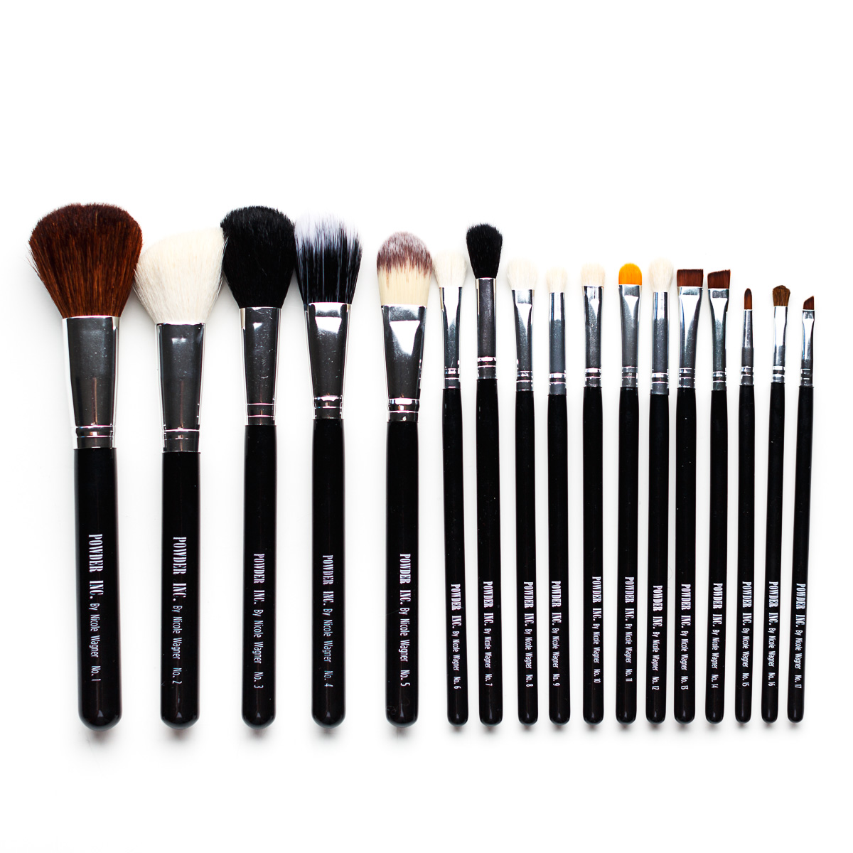 Powder Inc. 17pc brush set