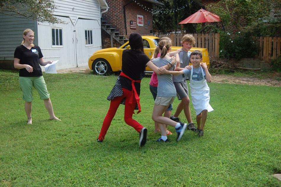 Teen Mastermind Group Team Building Fun