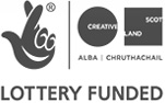 Creative Scotland Lottery Funded logo