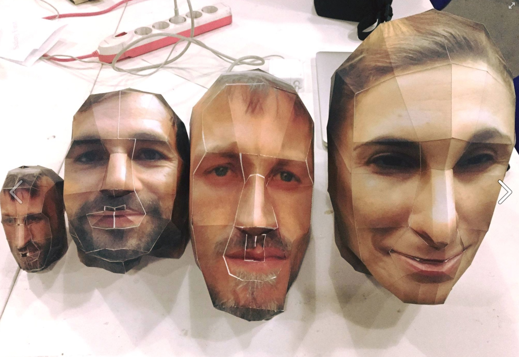your face in 3D