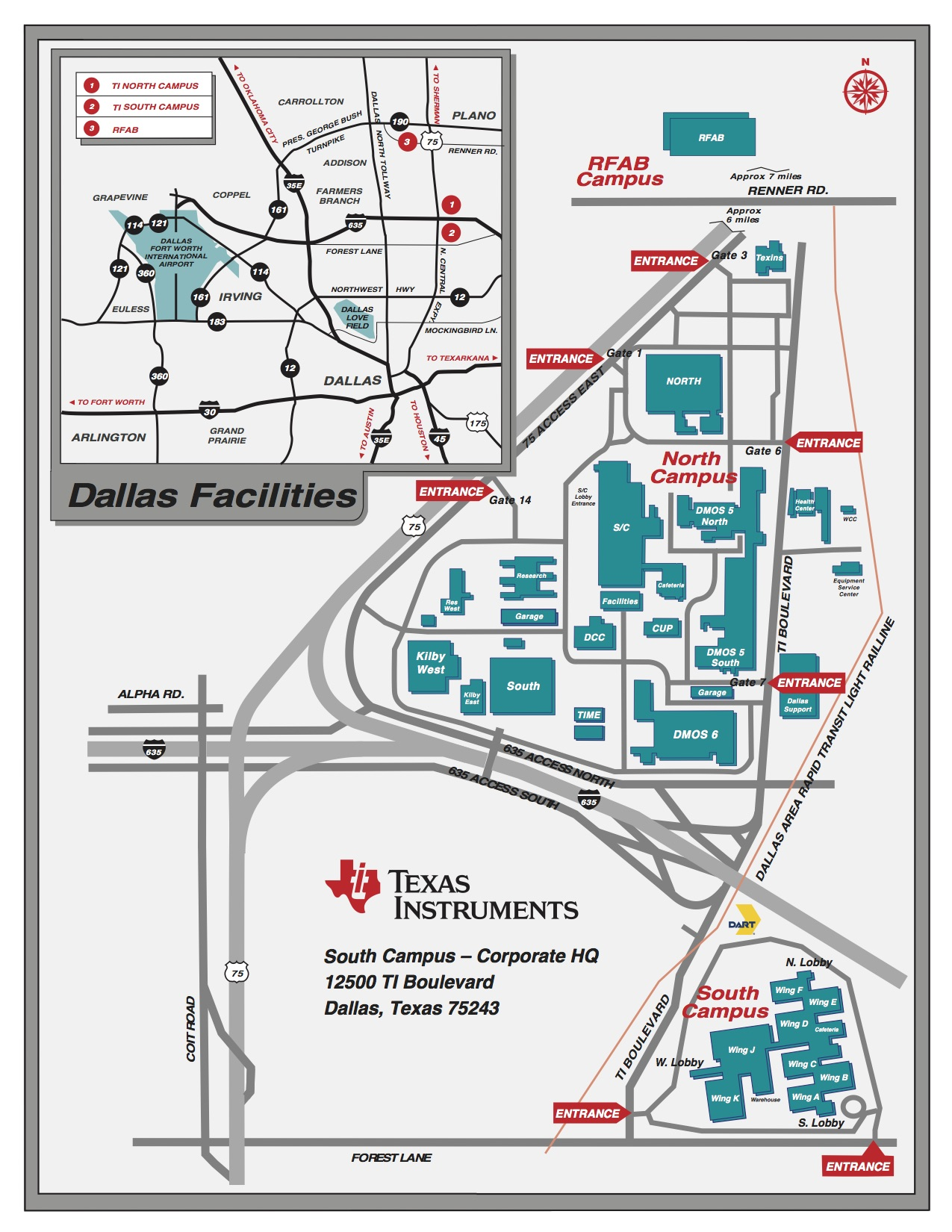 texas instruments dallas map Robot Events Girl Powered Flagship Event