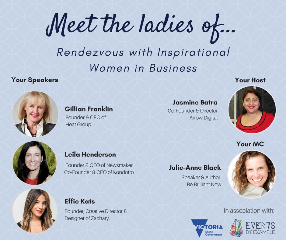 SBF Women in Business Panelists