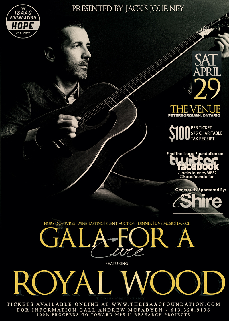 Gala Poster - Royal Wood