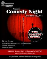 Riordan Programs: Comedy Night 2011