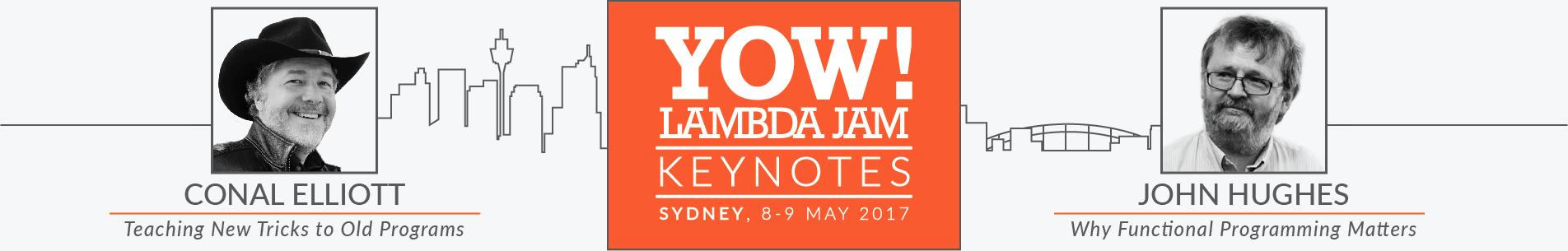 LAMBDA JAM 2017 KEYNOTES