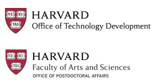 Harvard OTD and Harvard FAS Office of Postdoctoral Affairs