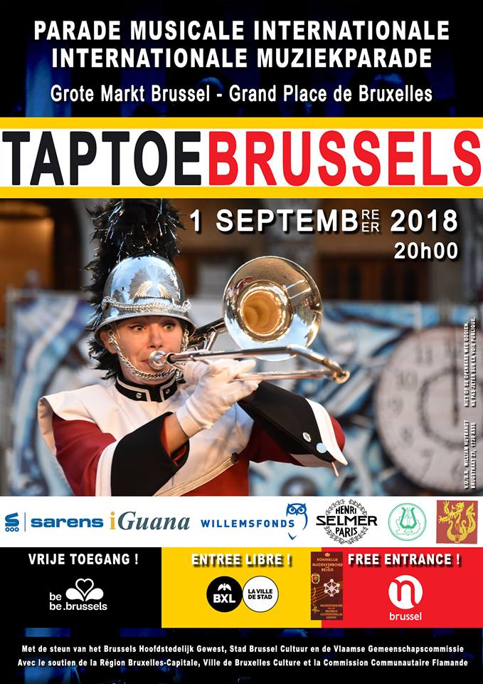 Affiche Taptoe Brussels 2018
