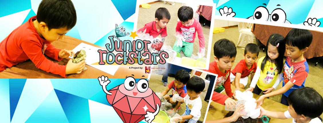 Junior Rockstars at work