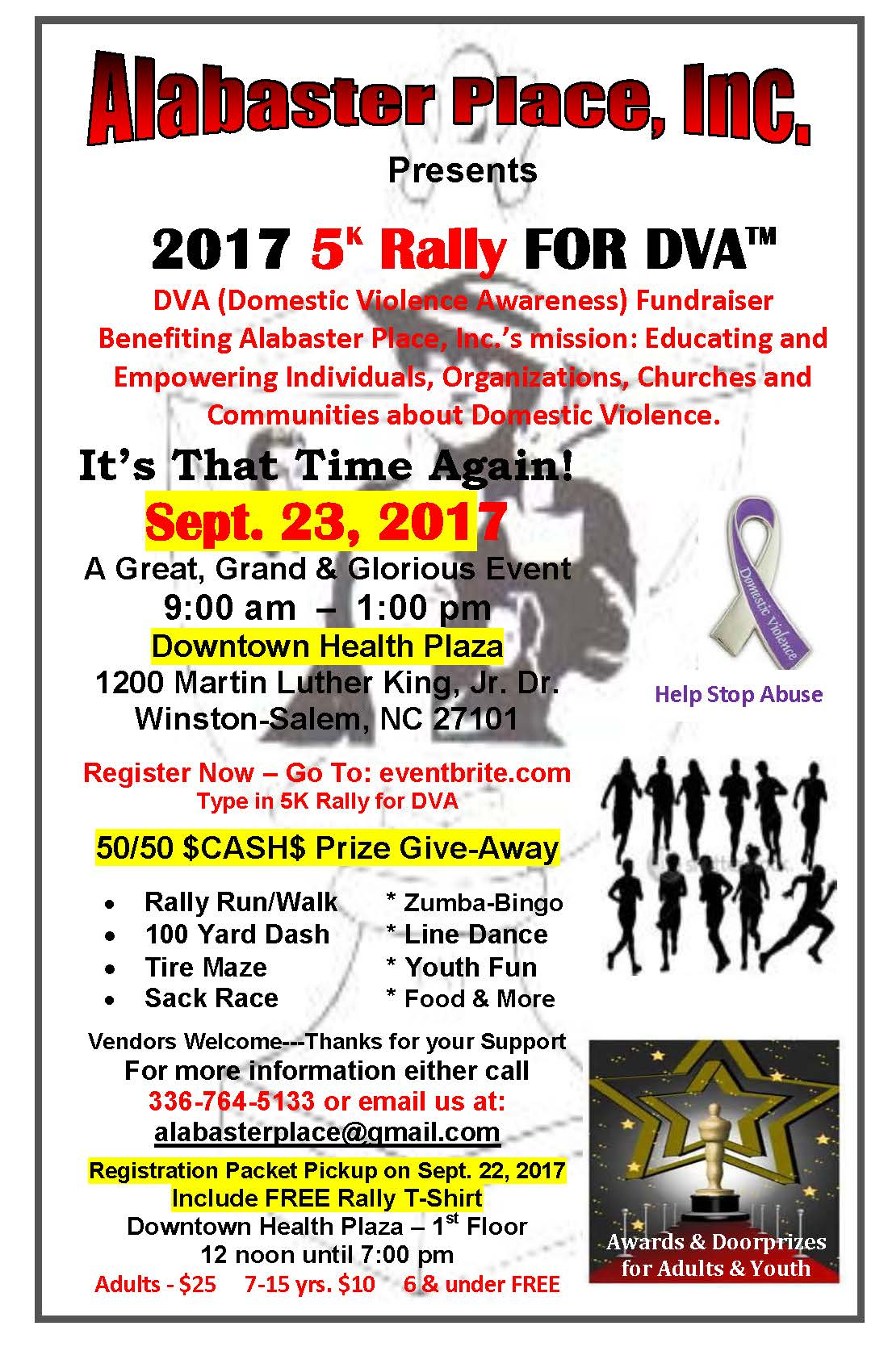 2017 5K Rally for DVA (Domestic Violence Awareness ...