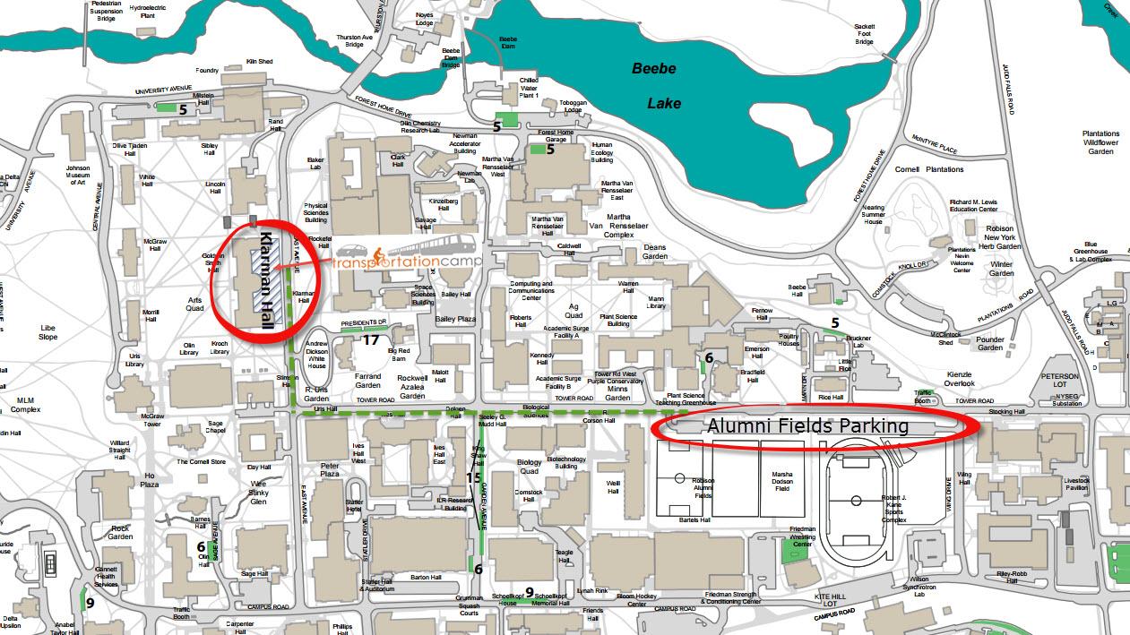 Alumni Fields Map