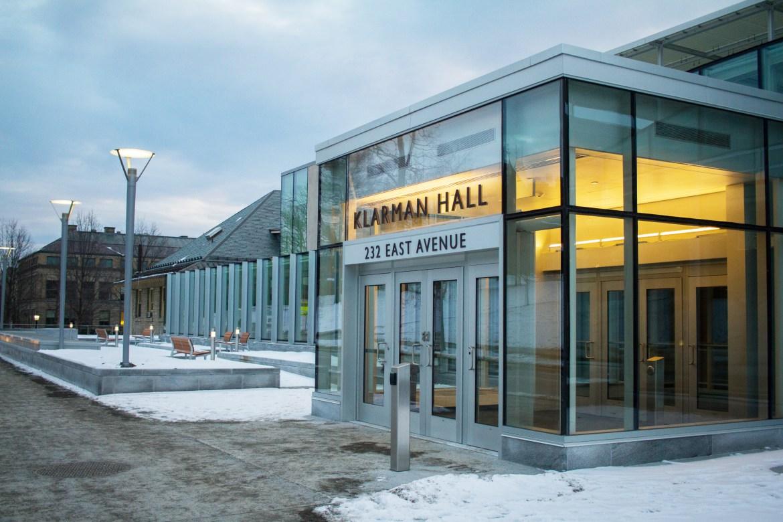 Klarman Hall Entrance
