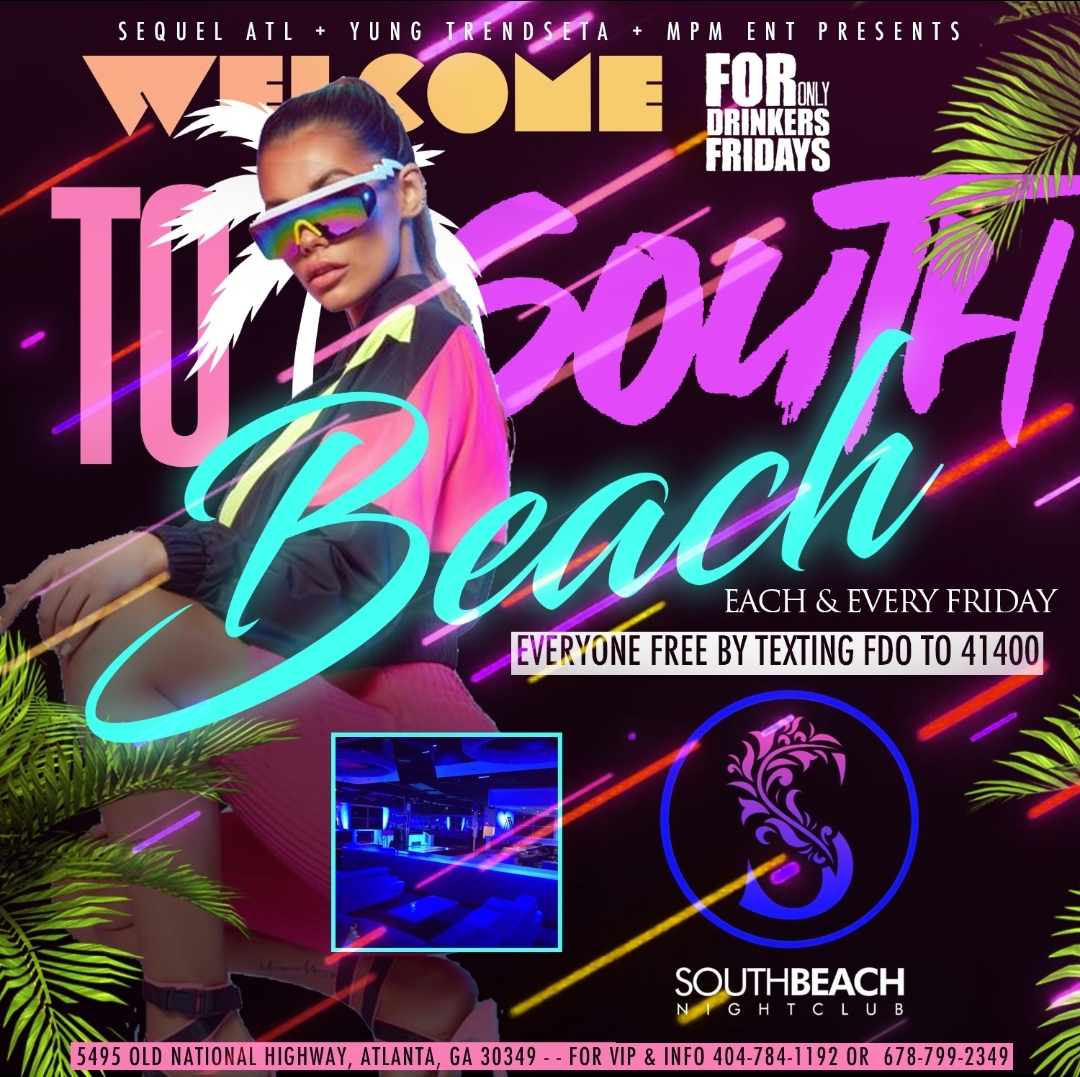 Fridays South Beach Atl Tickets