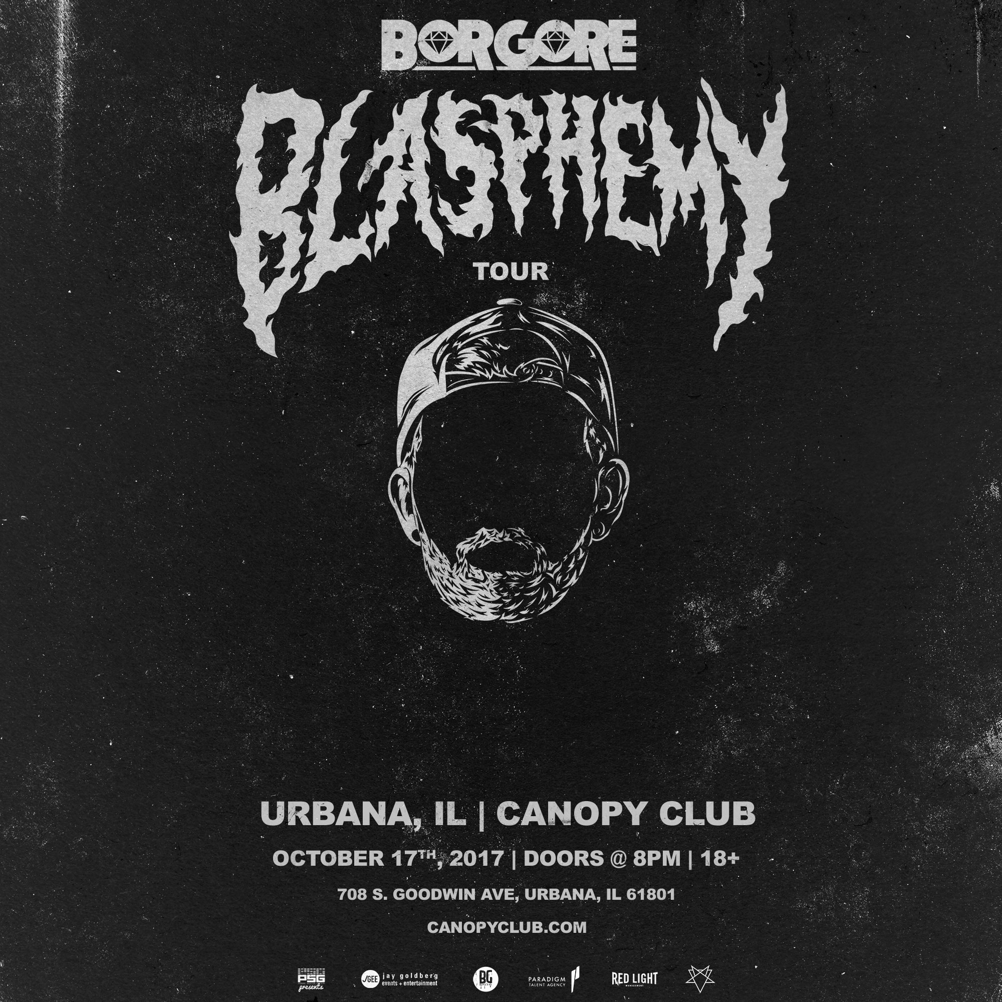 Description  sc 1 st  Eventbrite & Borgore @ Canopy Club Tickets Tue Oct 17 2017 at 8:00 PM ...