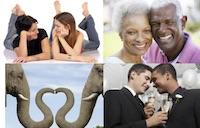 Four Diverse Couples