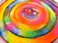 Swirl of Bright Colors