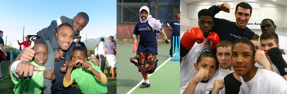 Laureus Sport for Good beneficiaries
