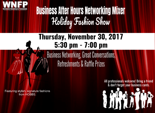 Business After Hours Networking Holiday Fashion Show