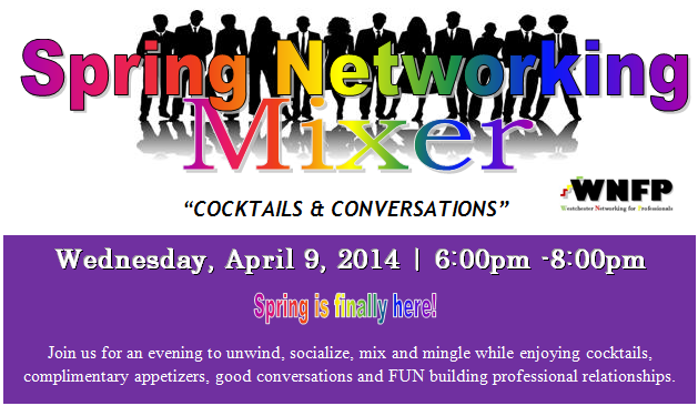 Spring Networking Mixer - 6pm - 8pm