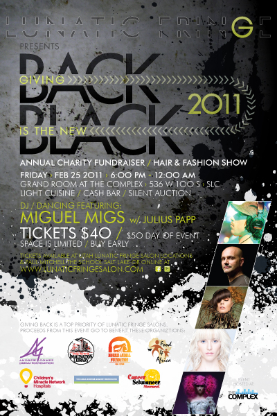 Lunatic Fringe Presents: Giving Back is the New Black 2011