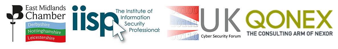 East Midlands Cyber Security Forum partner logos