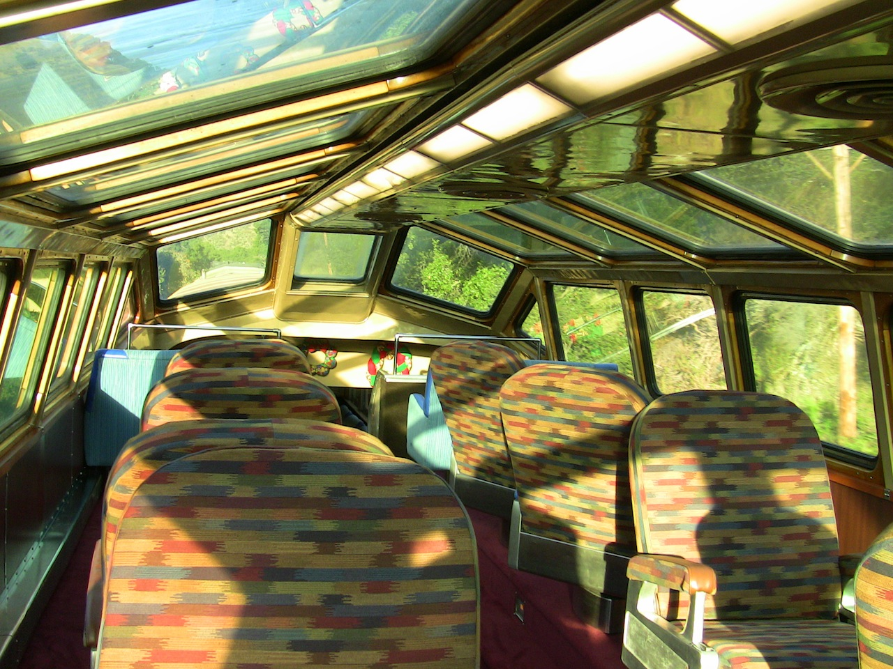 View from the Dome Car, Niles Canyon Railway
