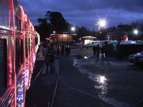 Train of Lights at Sunol Depot