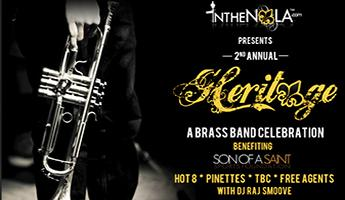 "IntheNOLA.com Presents ""Heritage: A Brass Band Celebration..."