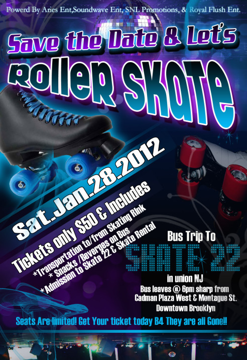 SAVE THE DATE & SKATE