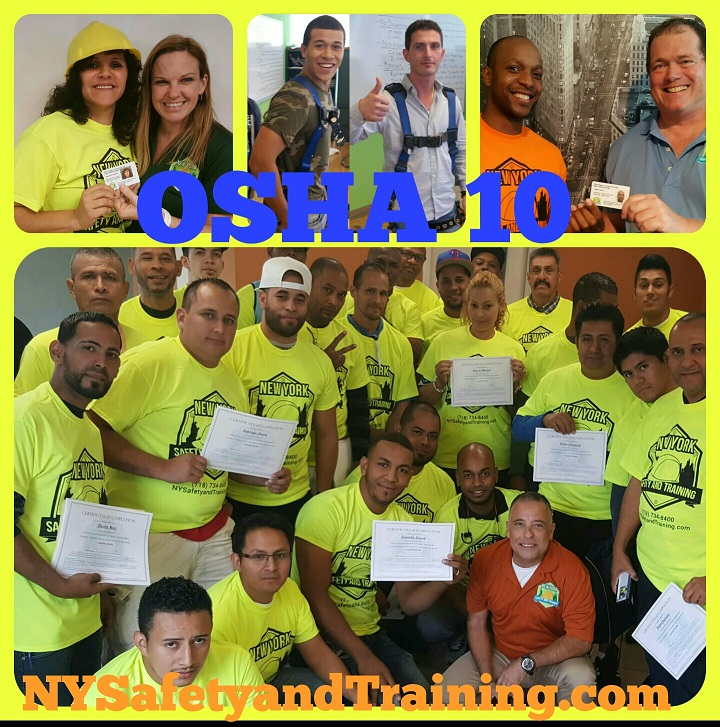 OSHA 10 class in Brooklyn