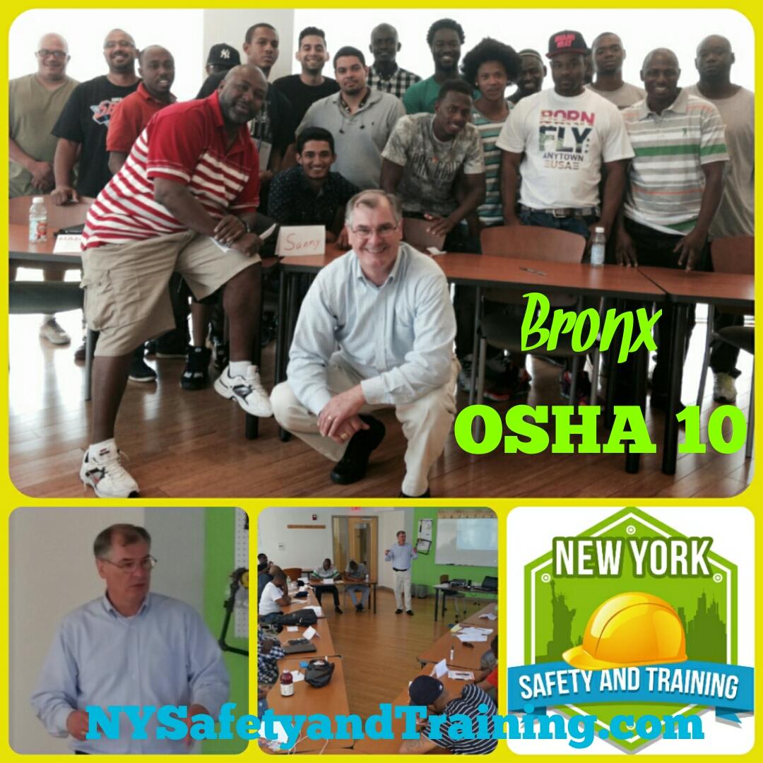 Bronx OSHA 10