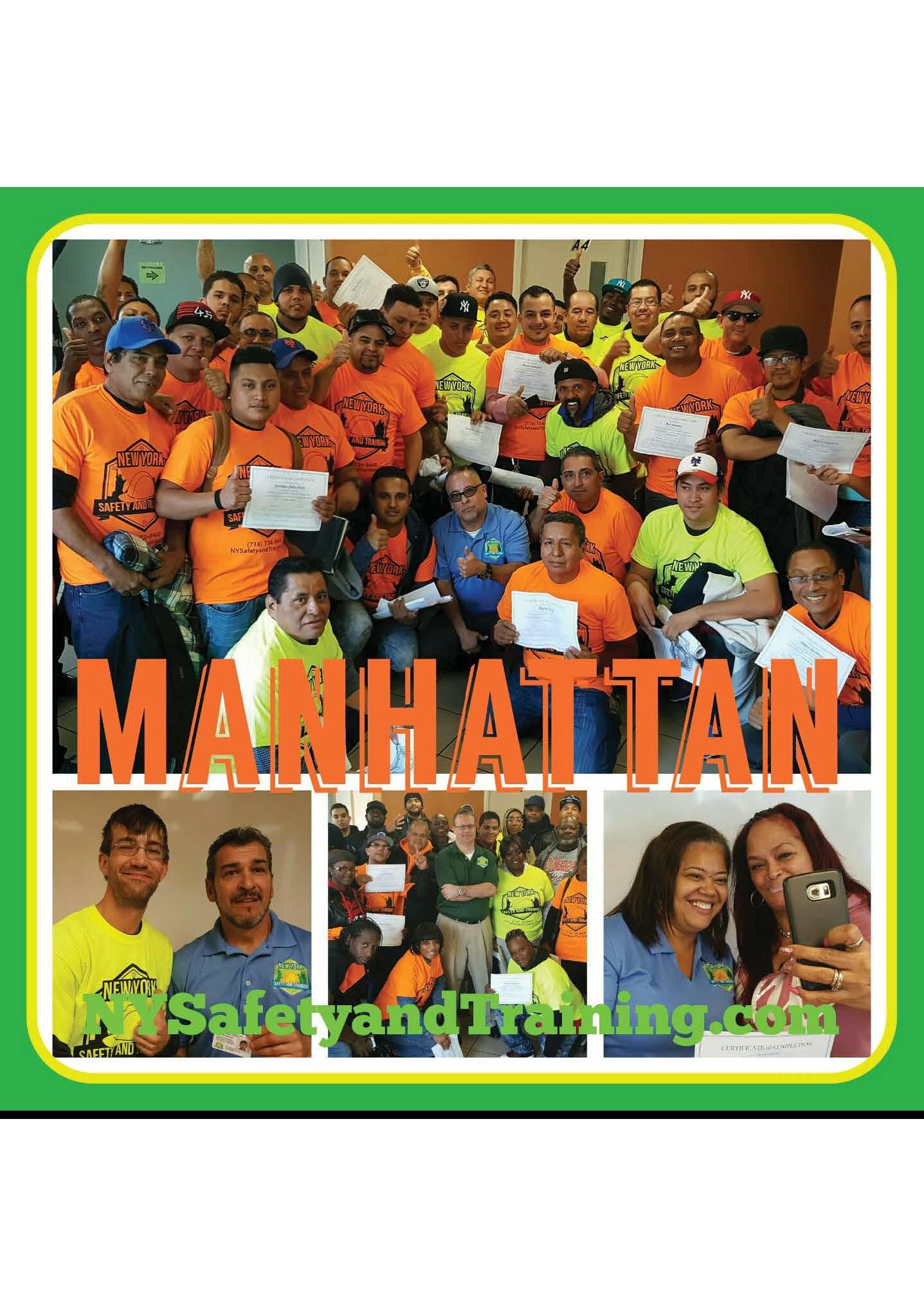 Manhattan OSHA 10