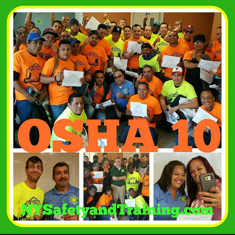 OSHA 10 class