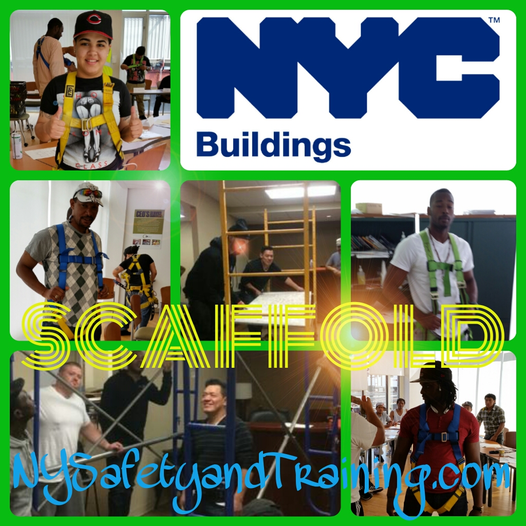 4-hour Supported Scaffold User Class