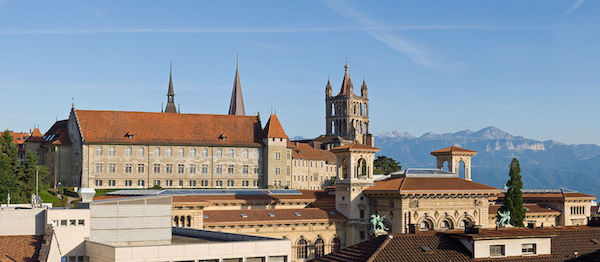 Lausanne Customer Journey Mapping Workshop Venue