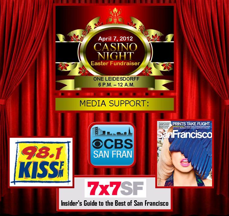 Media Support: KISS FM, CBS5, 7x7, San Francisco Magazine