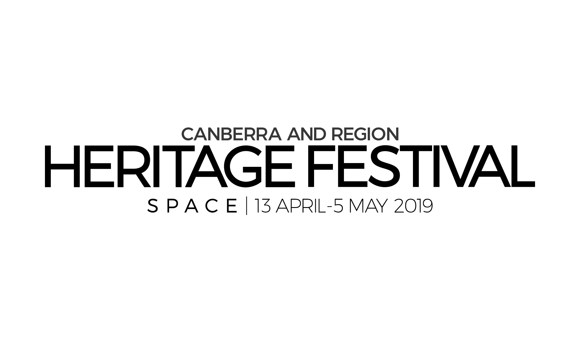 Canberra and Region Heritage Festival Logo