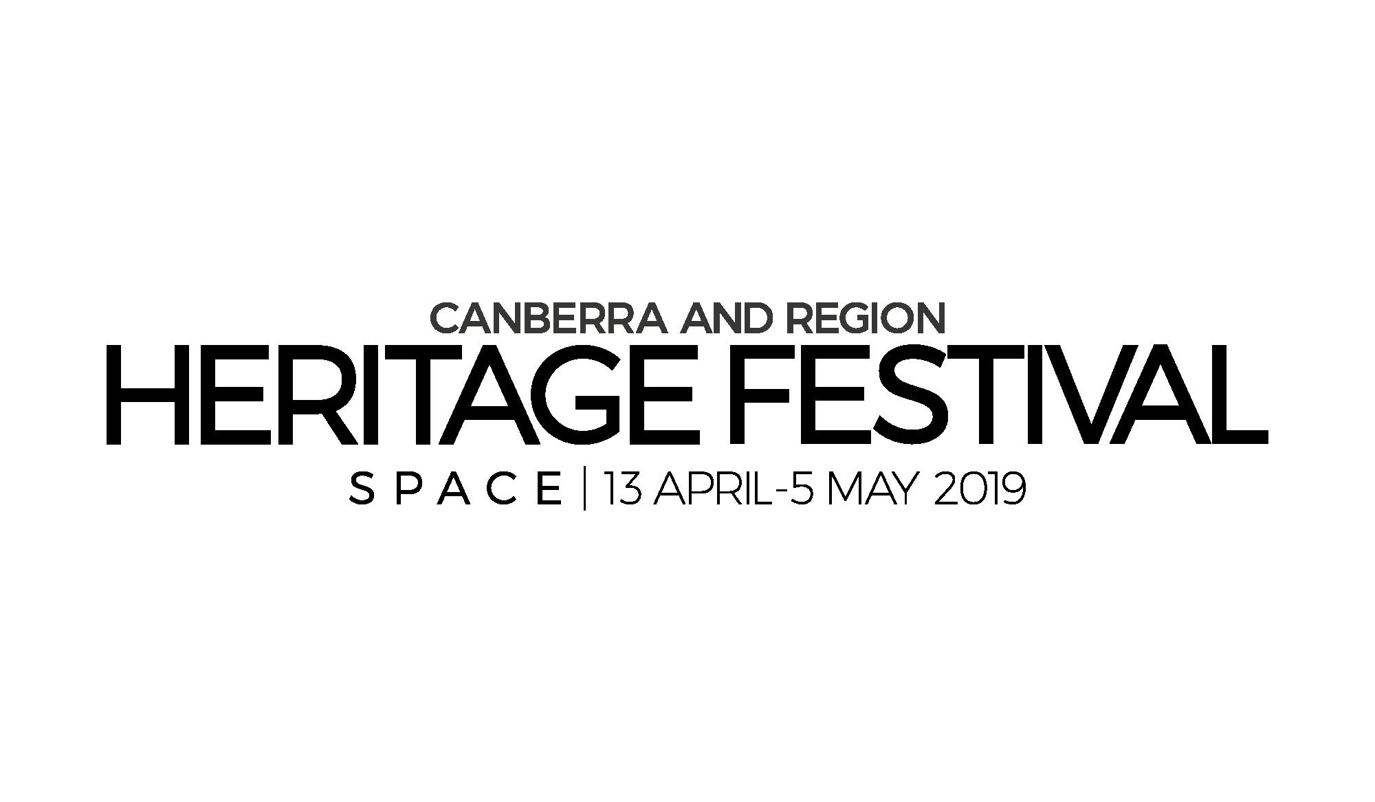 Canberra and Region Heritage Festival logo