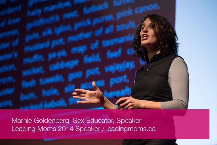 Speaker: Marnie Goldenberg - Sex Educator, Speaker