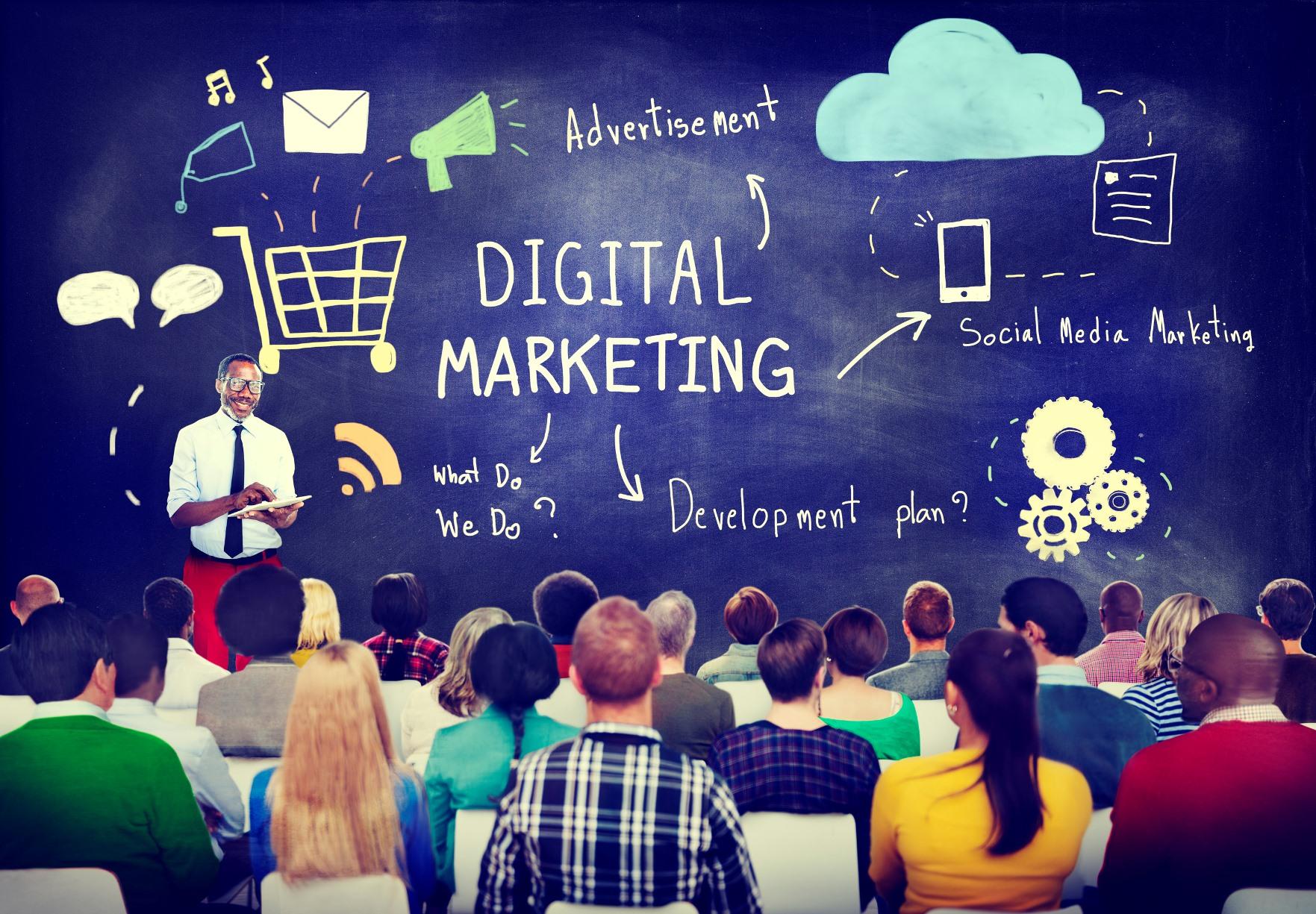 Digital Marketing and social media session