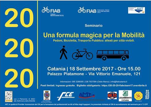 FIAB & AIIT - Seminario Mobilità Sostenibile del 18-09-2017