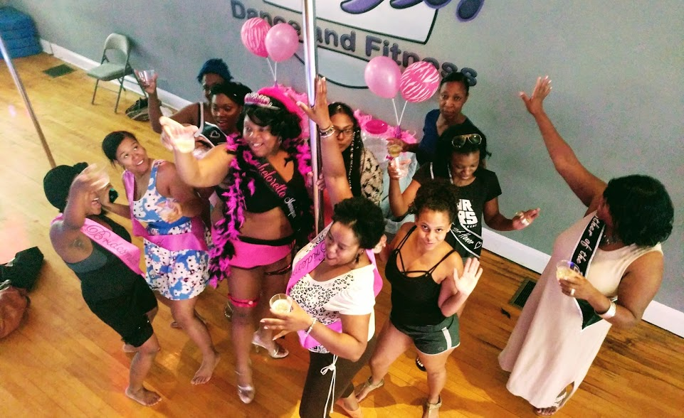 Bachelorette Party at Work It Dance and Fitness