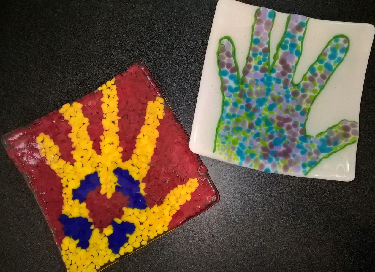 Hand Print Platter