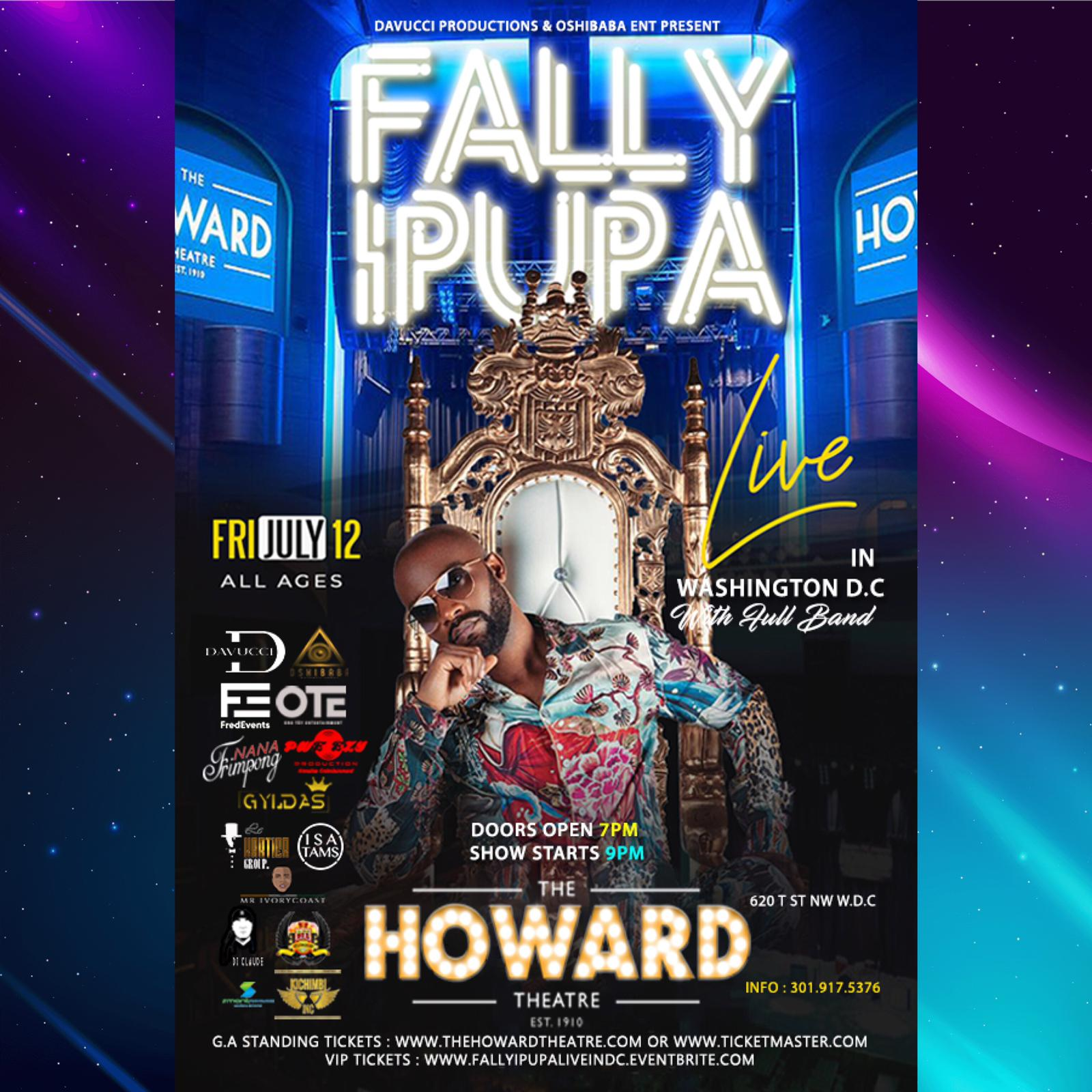 FALLY IPUPA LIVE IN DC