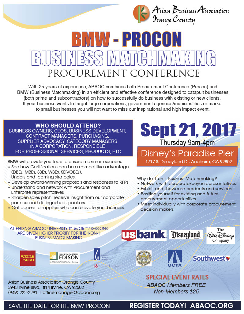 ABAOC 2017 Procon and BMW